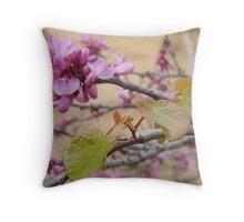 Elegant Magnolia Blossom Tree Throw Pillow