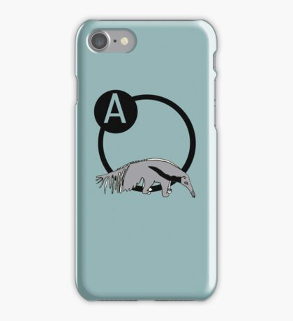 A is for...Anteater iPhone Case/Skin