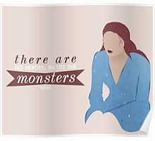 sansa; the monsters win Poster