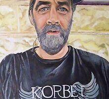 America The Working Poor: Portrait of Randy, 2013 by Artist Antonia Posey
