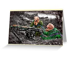 wartime : target practice Greeting Card