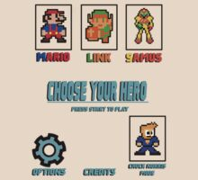Choose Your Hero by David-Jumel