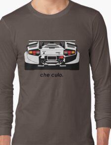 Lamborghini Countach - Che Culo Long Sleeve T-Shirt