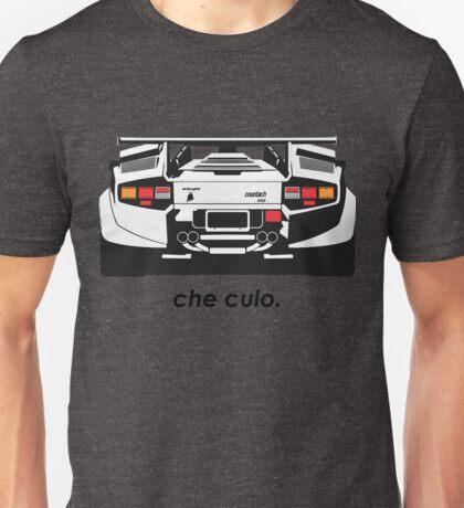 Lamborghini Countach - Che Culo Unisex T-Shirt