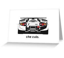 Lamborghini Countach - Che Culo Greeting Card