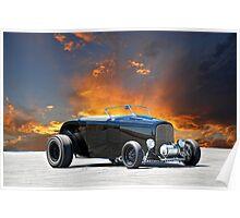 1932 Ford 'Black Widow' Roadster II Poster