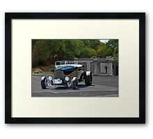 1932 Ford 'Black Widow' Roadster I Framed Print
