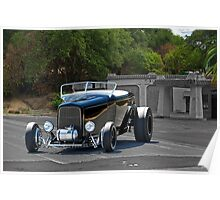 1932 Ford 'Black Widow' Roadster I Poster