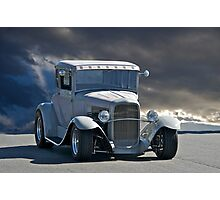 1931 Ford Model A 'Gray Daze' Coupe Photographic Print
