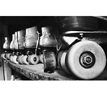 Skates (black/white) Photographic Print