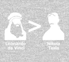 da Vinci > Tesla One Piece - Long Sleeve
