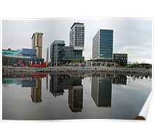 Salford Quays Poster