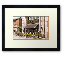 BOSTON RESTAURANT Framed Print