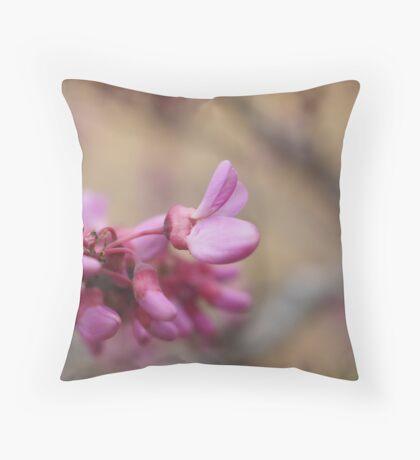 Very Elegant Magnolia Blossom Theme Throw Pillow