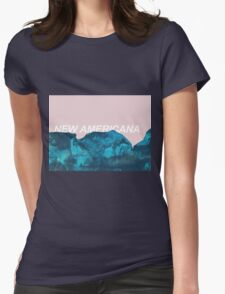nuevo américa Womens Fitted T-Shirt