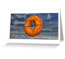 Donut Slice  Greeting Card