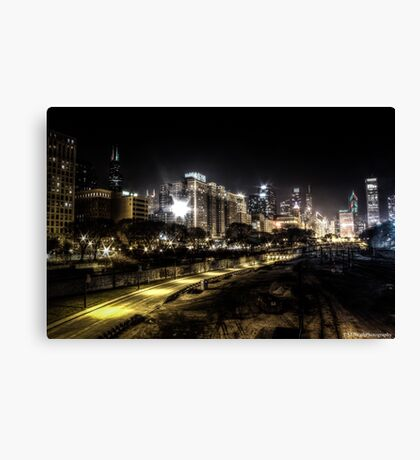 Chicago - South Canvas Print