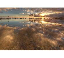Dual Sunbursts Photographic Print