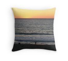 Sundown Redondo Beach Throw Pillow