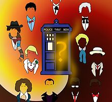 The Time Lords and the TARDIS by scottster246