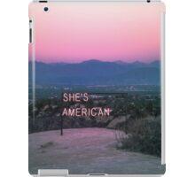 // SHES AMERICAN // iPad Case/Skin