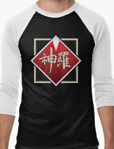 Shinra Logo - Final Fantasy VII Men's Baseball ¾ T-Shirt