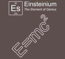 Einsteinium - The Element of Genius One Piece - Short Sleeve