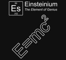 Einsteinium - The Element of Genius Kids Clothes