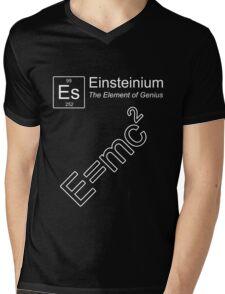 Einsteinium - The Element of Genius Mens V-Neck T-Shirt