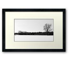 Dead of Winter Framed Print