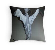 Origami Dragon II Throw Pillow
