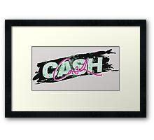 Cash Cash Framed Print