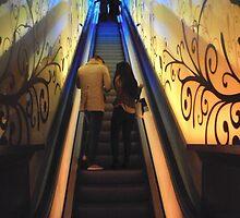 Glasgow Escalators by biddumy