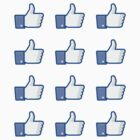 Facebook Like Thumbs Up ×12 by csyz ★ $1.49 stickers
