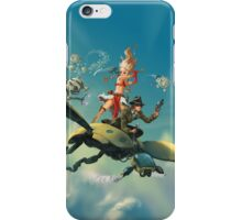 Aerial trouble - phone case #3 iPhone Case/Skin