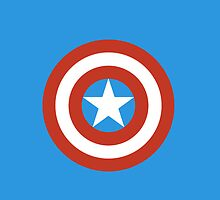 Captain America iPhone/ iPod Case by LauraHorgan