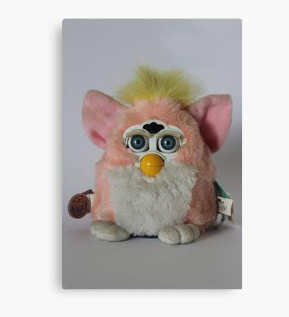 Pink Furby  Canvas Print