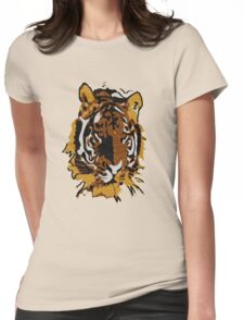 Wildlife - Tiger  Womens Fitted T-Shirt