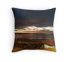 Near the RB Pier at Night II Throw Pillow