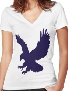 Wildlife- Bird ! Women's Fitted V-Neck T-Shirt