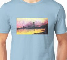 Macdonald Bridge Impressionism Unisex T-Shirt