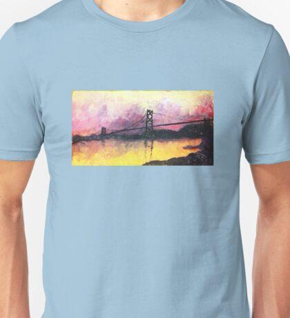 Macdonald Bridge Impressionism Unisex T-Shirt