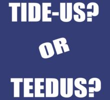 Final Fantasy X - How do 'YOU' say Teedus? by Meztrov