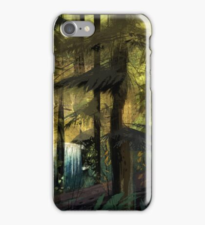 Gravity Falls Forest iPhone Case/Skin