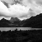 Cradle Mountain in black and white by samg