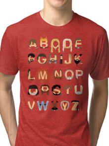 GoT Alphabet Tri-blend T-Shirt