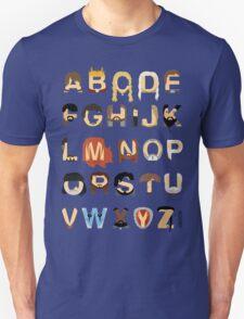 GoT Alphabet Unisex T-Shirt