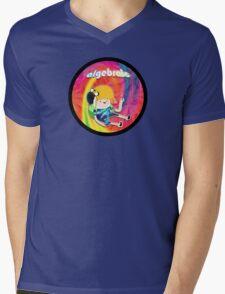 Algebraic Mens V-Neck T-Shirt