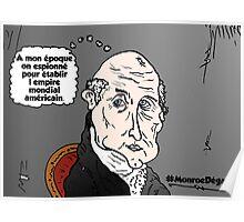 James MONROE chauve webcomic Poster