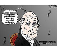 James MONROE chauve webcomic Photographic Print